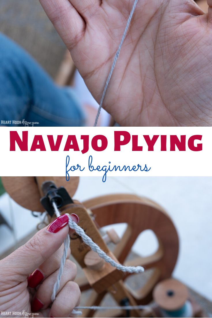 How to navajo chain ply yarn