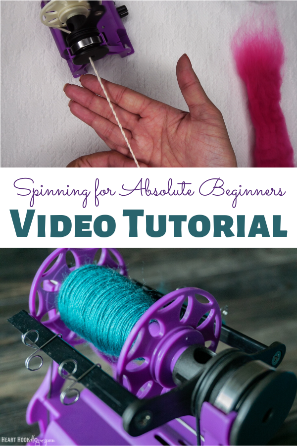 Beginner spinning video tutorial