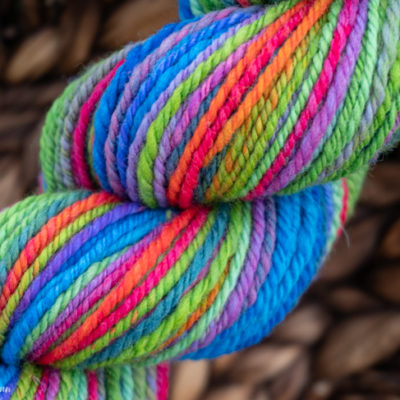 How to set handspun yarn
