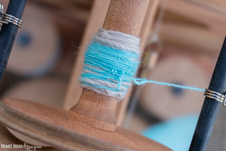 overspun yarn
