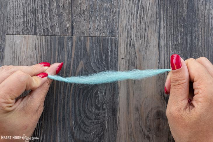 How to Fix a Slub in Handspun Yarn